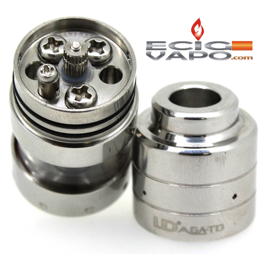 Youde UD AGA T2 Rebuildable Atomizer - The Vaping Buddha