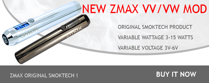 Zmax variable voltage/wattage mod smoktech