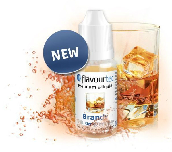 Brandy e-liquid 10ml Flavourtec