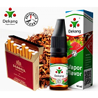 E-sıvı Dekang 10ml Silver Label - Hill Blend