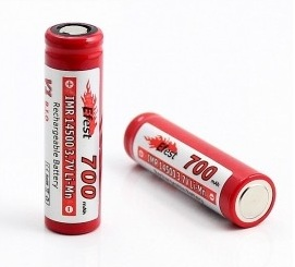 Efest 14500 700mAh 3.7V Rechargeable battery