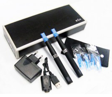 5 X eGo-T with LCD 2 electronic cigarettes kit 1100mah