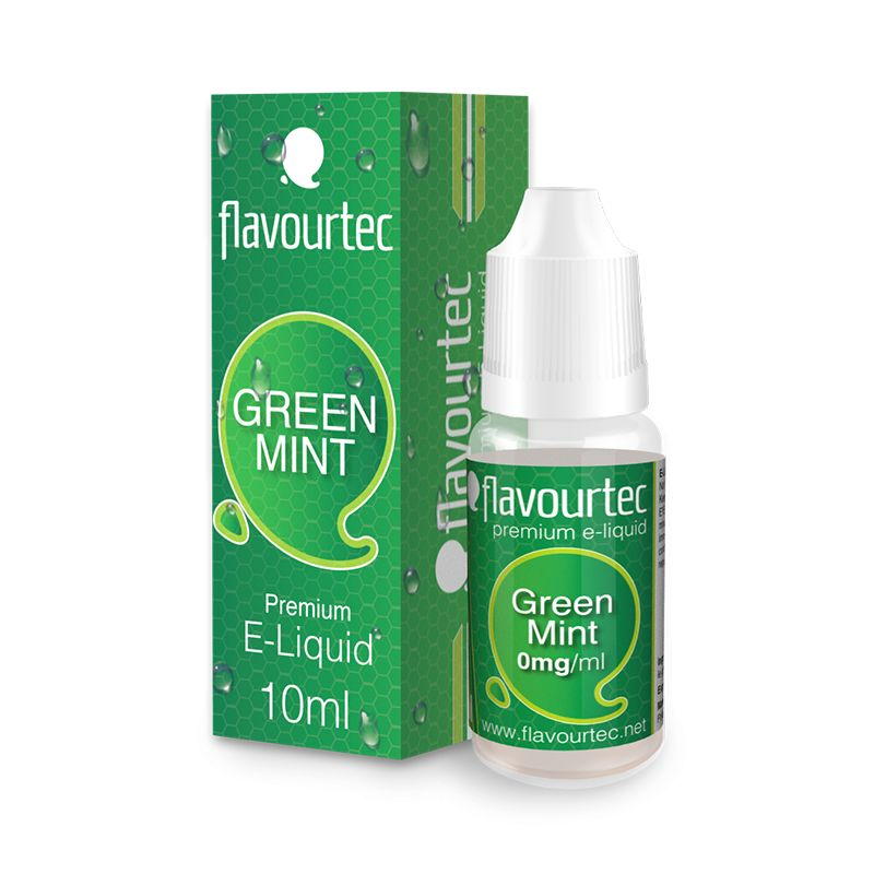 Flavourtec e-liquid 10ml - Green Mint