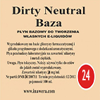Inawera - Dirty Neutral Base - nicotine 24 mg/ml 100 ml