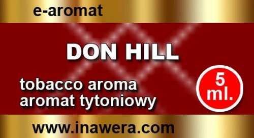 E-FLAVOUR Inawera TOBACCO - Don Hil - 5ml