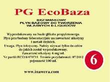 Inawera PG Eco Base  - nicotine 6 mg/ml 100 ml