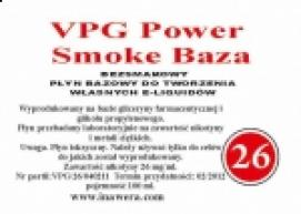 Inawera - VPG Smoke Power Base - nicotine 26 mg/ml 100 ml