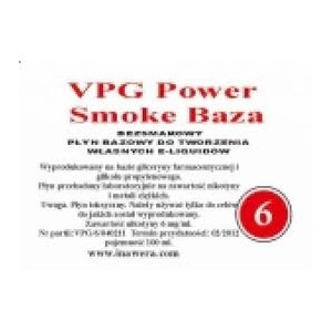 Inawera - VPG Smoke Power Base - nicotine 6 mg/ml 100 ml