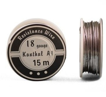 Kanthal A1 Resistance Wire 18 Gauge 50 ft