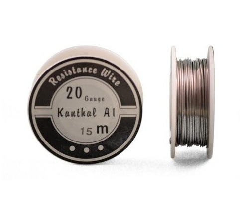 Kanthal A1 Resistance Wire 20 Gauge 50 ft