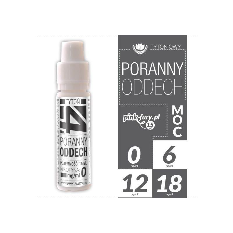 Pink Fury E-liquid 15ml - Morning Breath Turkish Tobacco