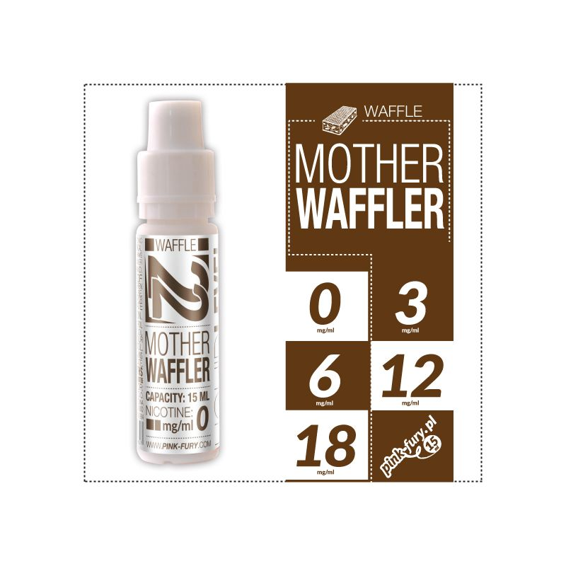 Pink Fury E-liquid 15ml - Mother Waffler