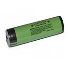 Panasonic 18650B 3400mAh battery 3.7v li-ion with button top