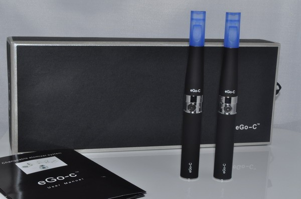 Kit eGo_C 2 electronic cigarettes - 650 mAh