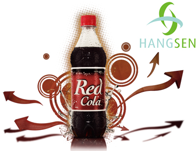 Hangsen E-Liquid 10 ml VG - Red Cola