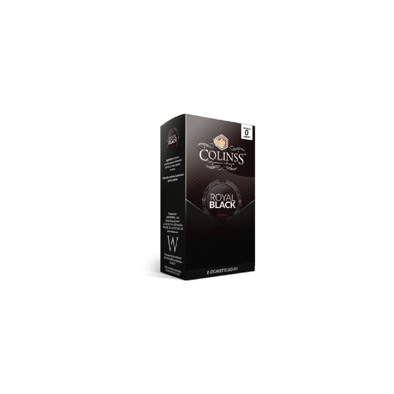 Royal Black E-liquid 10ml - Spicy American tobacco