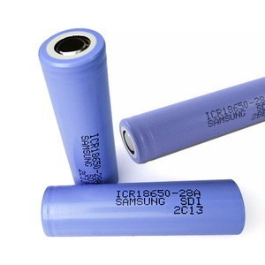 Samsung ICR18650-28A rechargeable li-ion battery 2800mah (protected)