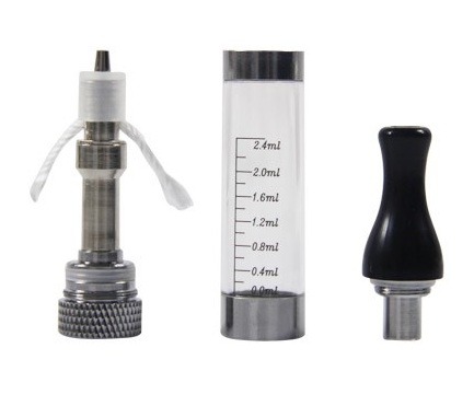 T3(CE6) rebuildable clearomizer 2.4ml capacity