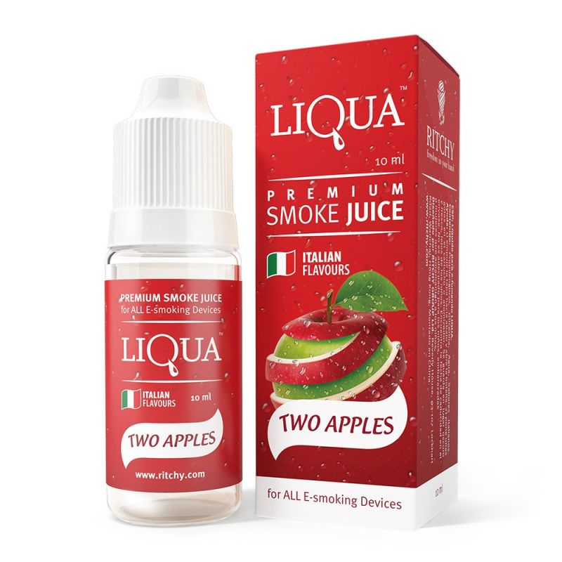 Liqua E-liquid 10ml premium italian flavour - Two Apples