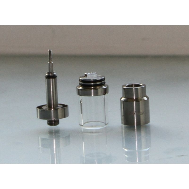 UD AGA-T3 Pyrex Glass Tank Stainless Steel Rebuildable