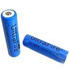 UltraFire Battery 18650 3000mAh 3.7V  Li-ion with button top