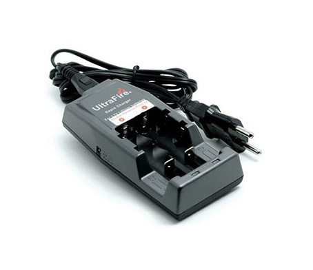 UltraFire WF-139 3.6/3.7V Battery Charger for 18650, 14500, 16340, RCR123 Li-ion Batteries