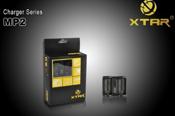XTAR MP2 16340/18350 Li-ion 3.0V 3.7V Chargeur de batterie Kit