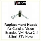 10 X Resistances for Vision atomizers/clearomizers